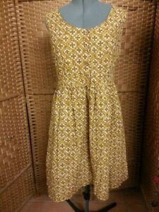 LADIES TREE OF LIFE COTTON SUN DRESS XL FIT APPROX SIZE 16