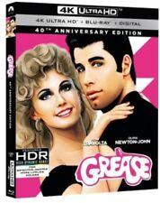 Grease (1978 John Travolta Olivia Newton John) (W/ BR) 4K ULTRA HD BLU-RAY NEW