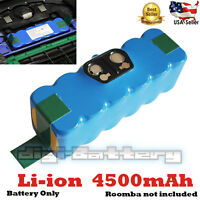 Replacement Li-ion 14.4V 4500mAh Battery For iRobot Roomba Vacuum 880 900