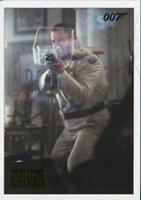 James Bond Archives 2016 Spectre Gold Parallel Living Daylights Chase Card #53