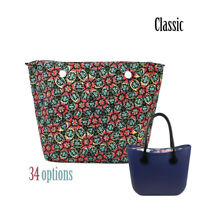 New Colorful O bag waterproof Insert Canvas Zipper Pocket for Classic big Obag