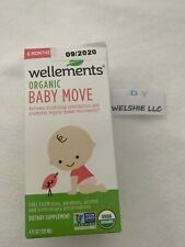 New Wellements Organic Baby Move, 4 oz