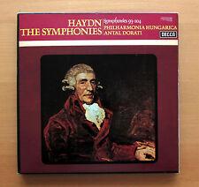 Haydn The Symphonies 93-104 Antal Dorati 6xLP ARGO HDNH 41-46 + booklet EX/EX