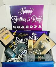 GRANDAD GIFT Fathers Day Personalised Daddy Dad Hamper Pamper gift Present