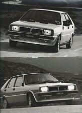 Lancia Delta HF Press Photograph x 2 Roma Licence Plates