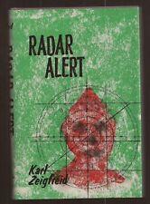 RARE SCIENCE FICTION - Radar Alert (1968) Karl Zeigfreid - ARCADIA HOUSE - HBDJ