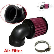 Universal Black Motorcycle Air Cleaner Intake Filter For Bobber Chopper Cruiser