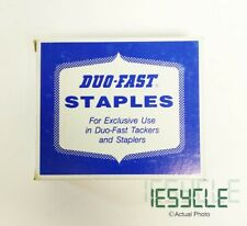 """NEW DUO-FAST Staples 3/8"""" Long Strip 10,000 Counts 3112C"""