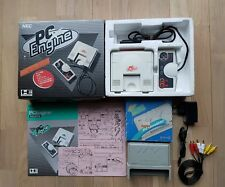 Console NEC PC Engine + AV Booster (En boîte) + Un jeu offert