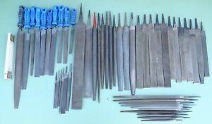 50 Werkstattfeile Flachfeile Rundfeile Dreikantfeile Halbrundfeile Metall Feilen