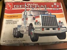 1/25 AMT GMC General Original Kit S/I Decals Look Ok Sold As Is Good Builder