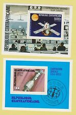 P70 CENTRAFRICAIN SPACE 2X S/S MNH