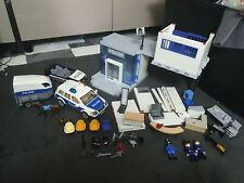 Playmobil 5182 City Action Police Command Station Parts with figures , horse pol
