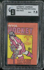 1975 O-Pee-Chee WHA Hockey Wax Pack GAI 7.5 NM+