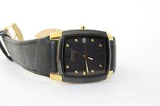 Men's Citizen Eco-Drive Leather Strap Watch BM6574-09E