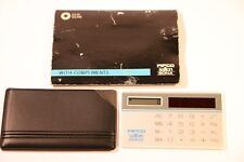 Pifco Salton Sona Mini Calculadora de tamaño tarjeta de crédito fabrioue hecho en Hong Kong