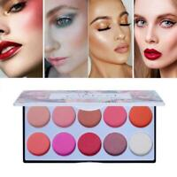 POPFEEL10 Farben Matte Blush Palette O4A0