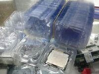 100 pcs New Inter CPU Clamshell Tray Case For 478 775 1150 1155 1156 CPU