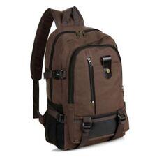 Mens Canvas Backpack Casual Rucksack Reise Sport große Gesch#skt zONwl