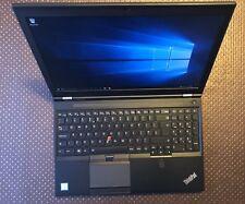 Lenovo ThinkPad P50, Core i7-6820HQ, 32GB DDR4, 512GB SSD, Windows 10 Pro 64-Bit