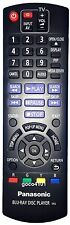 ORIGINAL PANASONIC N2QAYB000580 REMOTE CONTROL DMPBD75, DMP-BD75 GENUINE NEW