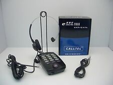 Telcent / Calltel T100 Headset Telephone with MUTE and Redial for Call Center