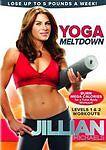 Jillian Michaels: Yoga Meltdown (DVD, 2010, Canadian) Levels 1 and 2 Workouts
