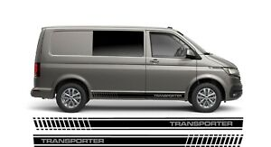 Side stripe set to fit VW Transporter T4 T5 T6 HIGH OEM QUALITY