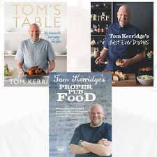 Tom Kerridge's Collection 3 Books Set(Tom's Table,Tom Kerridge's Best Ever Dish)