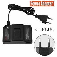 100-245V Netzteil Power Adapter Ladekabel für N64 EU Stecker Schwarz