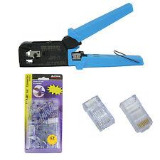 Platinum Tools 100004C EZ-RJ45 Crimper Tool, Jar EZ-RJ45 Cat5/5e 50 Connectors