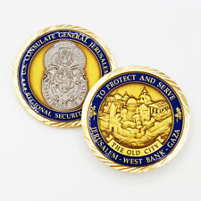 US Consulate General Jerusalem Regional Security Office West Bank Challenge Coin