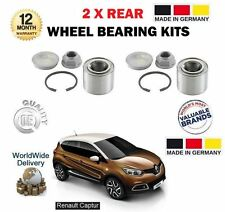 FOR RENAULT CAPTUR 0.9 1.2 1.5 DCI 2013-> NEW 2 X REAR AXLE WHEEL BEARING KITS