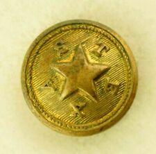 1870s-90s Texas Officer Uniform Button Original 13 C7T