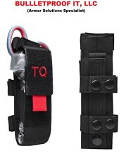 NEW Gen 7 CAT Tourniquet (KIT)- Color Black with Red pull tab