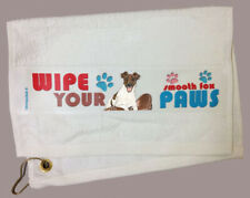 Fox Terrier Smooth Paw Wipe Towel