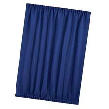 Home Front French Door Window Curtain Panel w/ Tieback Room Darkening Blue