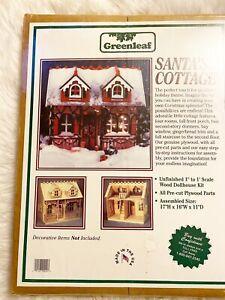 Greenleaf Santas Cottage/the Tiffani La Maison Dollhouse Kit