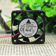 DELTA EFB0405HHA Cooling Fan DC 5V 0.25A 40mm x 40mm x 10mm 2 WIRE