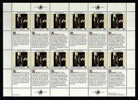 UNO New York 1992 postfrisch MiNr. 640-641  Bogensatz  Menschenrechte