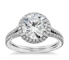 CERTIFIED 2.5 CT ROUND CUT G/SI1 REAL DIAMOND SOLITAIRE ENGAGEMENT RING 14K GOLD