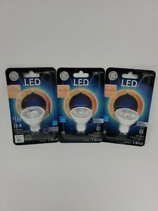 3x New GE LED Indoor Bulb 5.5W 50W Bright White Dimmable LED6D/GU10/NFLTP (B08)