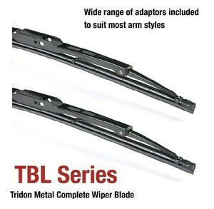 fits Subaru 1400 01/73-12/75 13/13in Tridon Frame Wiper Blades (Pair)