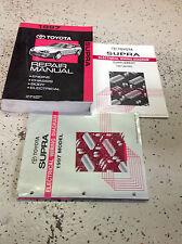 1997 Toyota Supra Service Repair Shop Workshop Manual OEM Set Factory 1997