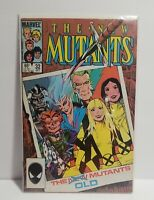 New Mutants #32 1st appearance of Madripoor Falcon/Winter Soldier Marvel 1985 vf