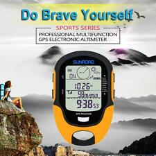 SUNROAD Waterproof FR510 Barometer Compass Outdoor Hiking Climbing Altimeter Set