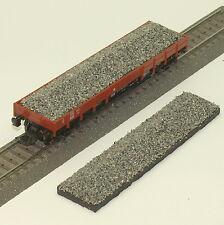 """049 H0 Ladegut für Fleischmann 5281 Niederbordwagen """" Schotter-grau """", OVP"""
