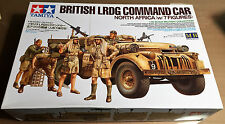 TAMIYA 32407 - BRITISH LRDG COMMANDO CAR (w/7 FIGURES) 1/35 - NUOVO RARO