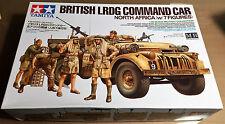 TAMIYA 32407 - BRITISH LRDG COMMANDO CAR (w/7 FIGURES) 1/35 - NUOVO RARO