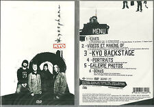 DVD - KYO : KYOSPHERE EN CONCERT / COMME NEUF - LIKE NEW
